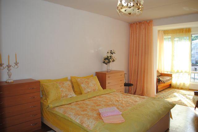 Люкс с панорамным видом, двухкомнатная квартира улучшенной планировки